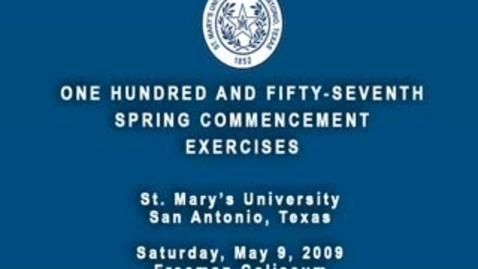 Thumbnail for entry Main Campus Graduation Spring 2009 (Full)