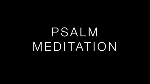 Thumbnail for entry Psalm 89