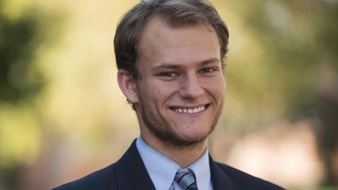 Thumbnail for entry Matthew Keller--OUTSTANDING STUDENT IN MARKETING