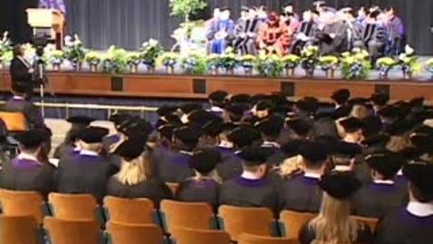 Thumbnail for entry Part 3 - Law School Graduation Spring 2009.m4v