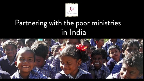 Thumbnail for entry Partnering with the poor ministries in India