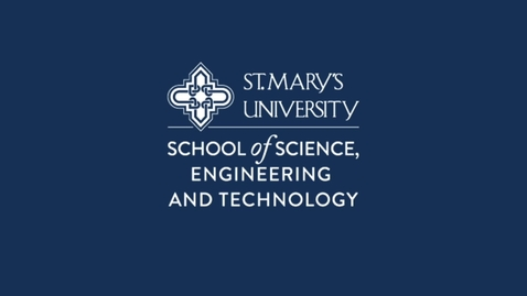 Thumbnail for entry School of Science, Engineering and Technology at St. Mary's University / October 2020