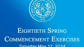 Thumbnail for entry 2014 Spring Law Graduation.mp4