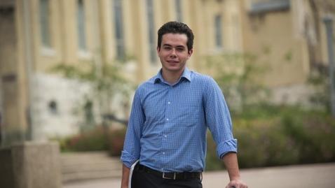Thumbnail for entry Blake Stephens--2016 OUTSTANDING STUDENT IN ENTREPRENEURIAL STUDIES