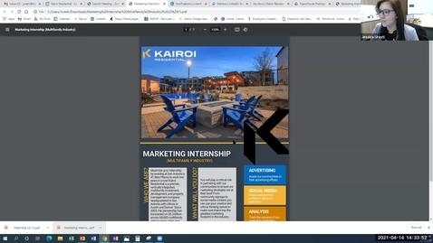 Thumbnail for entry STRIVE & KAIROI Information Session