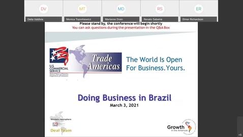 Thumbnail for entry Doing Business in Brazil