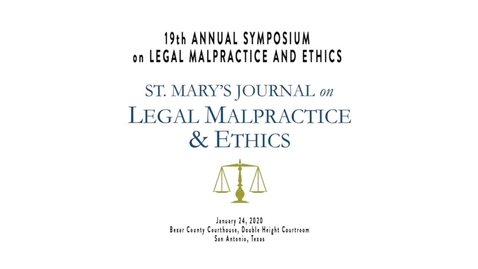 Thumbnail for entry 19th Annual Symposium on Legal Malpractice & Ethics - January 24, 2020/Speaker 7:  Jan L. Jacobowitz