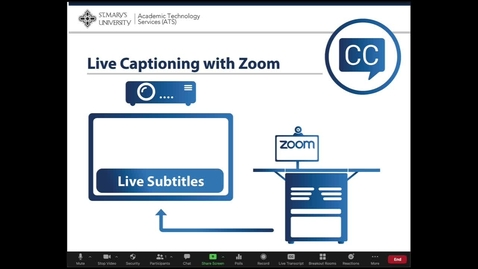 Thumbnail for entry Zoom Live Transcript Closed Captioning (Full Review)