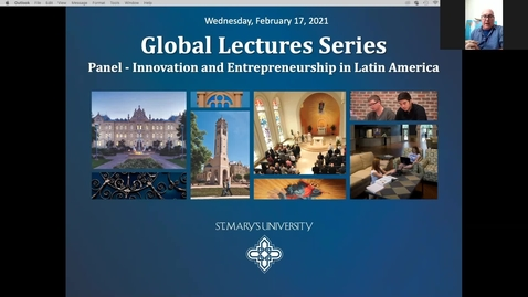 Thumbnail for entry Center for Global Studies Lecture #3: Panel Discussion on Innovation and Entrepreneurship in Latin America