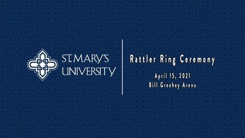 Thumbnail for entry Rattler Ring Ceremony - April 16, 2021