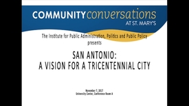 Thumbnail for entry Ron Nirenberg / Community Conversations / November 7, 2017