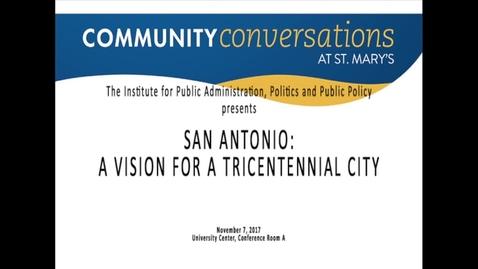 Thumbnail for entry Ron Nirenberg / Community Conversations / November 7, 2017