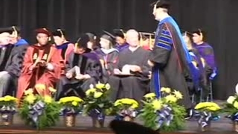 Thumbnail for entry Part 4 - Law School Graduation Spring 2009.m4v