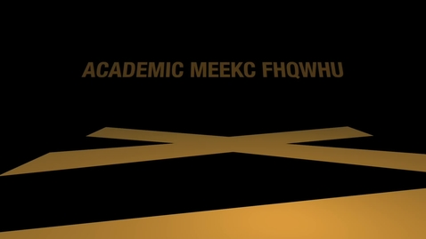 Thumbnail for entry Academic Media Center (AMC) - Video Production Services / August 2020