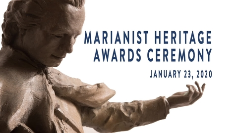 Thumbnail for entry MARIANIST HERITAGE AWARD CEREMONY (VIDEO ONLY)  PRESENTATIONS  --JANUARY 23, 2020