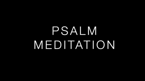 Thumbnail for entry Psalm 66