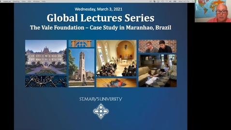 Thumbnail for entry Center for Global Studies Lecture #5: Case Study on Social Entrepreneurship in Latin America