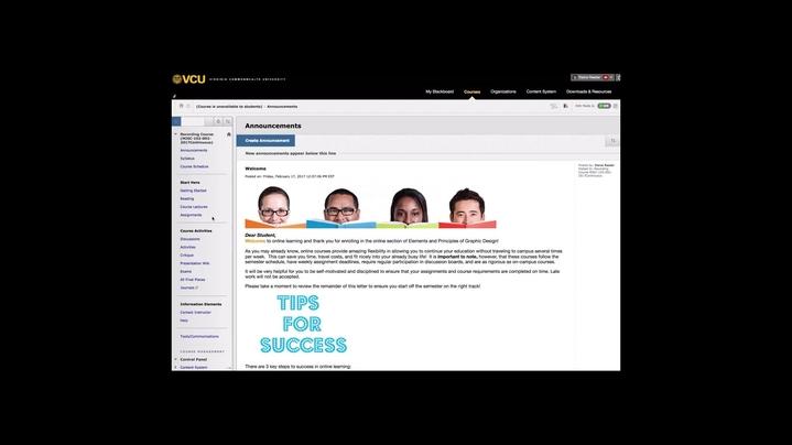 Thumbnail for channel Blackboard Basics