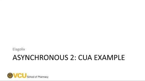 Thumbnail for entry CUA - Elagolix