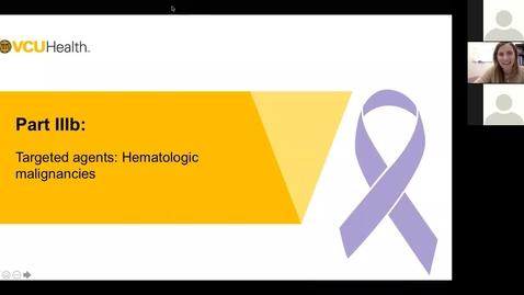 Thumbnail for entry 210120-M1-1030am-MARR-Targeted Antineoplastics Medications: Hematologic Neoplasms-Gatesman