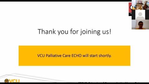 Thumbnail for entry Palliative ECHO: Outpatient Palliative Care ( Sep. 2019)