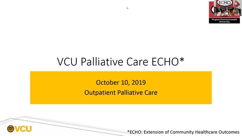 Thumbnail for entry Palliative ECHO: Getting through to resistant providers (Oct. 2019)