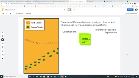 Thumbnail for entry Observations and Inferences