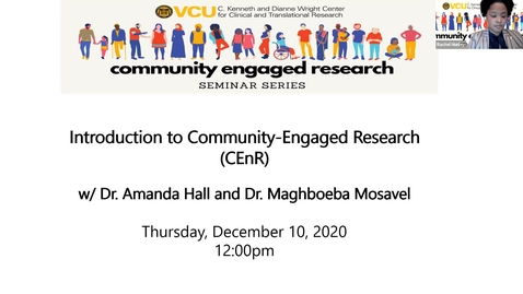 Thumbnail for entry Introduction to Community Engaged Research