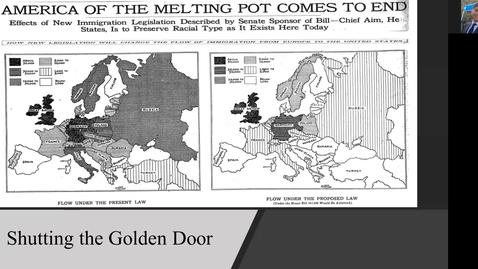 Thumbnail for entry Shutting the Golden Door
