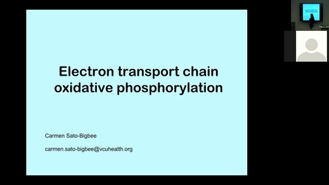 Thumbnail for entry 210811 - M1 - 8am - MBHD - Oxidative Phosphorylation and Problem Solving - Sato-Bigbee