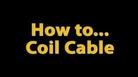 Thumbnail for entry MSS How-To Video: Coiling Cables