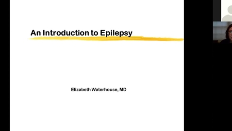 Thumbnail for entry 201112-M2-8am-MBB-Epilepsy Syndromes and Treatment-Waterhouse