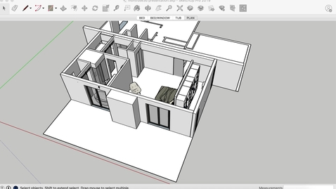 Thumbnail for entry Part 1 - sketchup export for revit