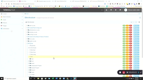 Thumbnail for entry How to hide or display a page/section in your main navigation