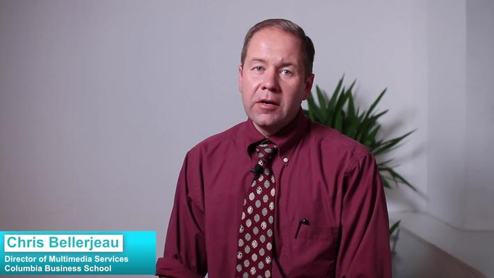 Columbia Business School:Video as a Marketing Tool in Education