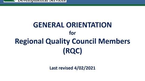 Thumbnail for entry Final RQC Orientation GENERIC no tools Presentation rev042021