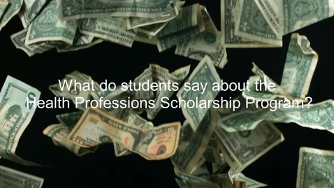 Thumbnail for entry HPSP Financial Aid Video