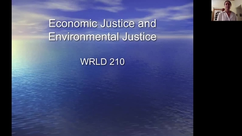 Thumbnail for entry WRLD210_Lecture #11_environment_waste and the Amazon