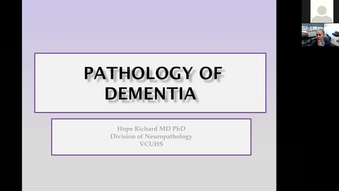 Thumbnail for entry 201117-M2-9am-MBB-Pathology of Cognitive Disorders-Richard