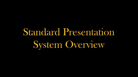 Thumbnail for entry Standard Classroom Podium Demo (2019)