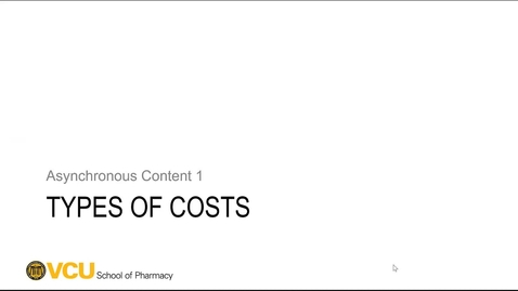Thumbnail for entry Costs - Part 1_2