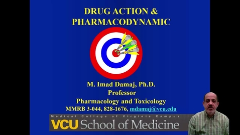 Thumbnail for entry Drug Action and Pharmacodynamic