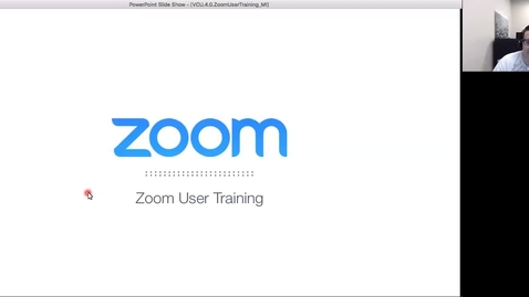 Thumbnail for entry Zoom Training Session: April 2, 2018