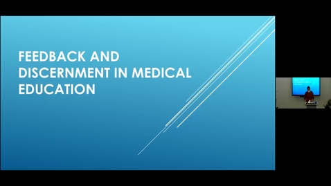 Thumbnail for entry 210804 - M1 - 11am - PCM - Lecture : The Basics - Discernment and Feedback - Wong