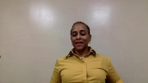 Thumbnail for entry Cancer Survivor Social Support Groups: Dr. Debbie Cadet