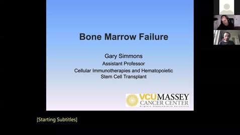 Thumbnail for entry 210111-M1-10am-MARR-Bone Marrow Failure-Simmons