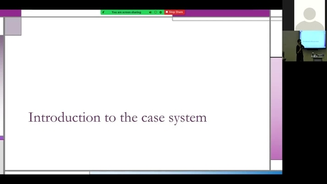 Thumbnail for entry 210806 - M1 - 9am - Diag Reas - Intro to Case System - DiGiovanni