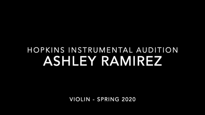 Thumbnail for channel Hopkins Instrumental Scholarship Auditions