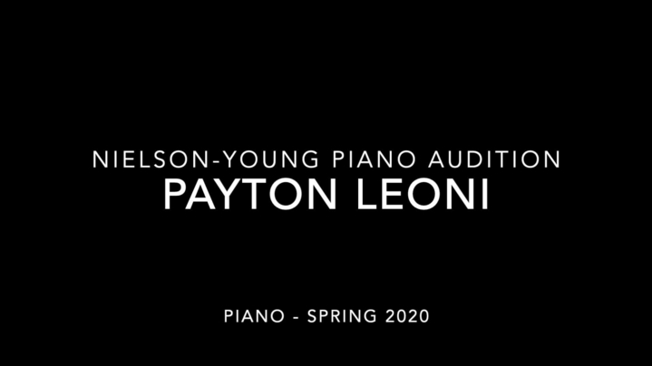 Thumbnail for channel Nielson-Young Piano Scholarship Auditions