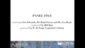 Thumbnail for entry Chet Edwards - Veteran's Rights - 2016 Panel 5